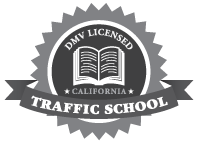 Traffic School DMV Approved Seal